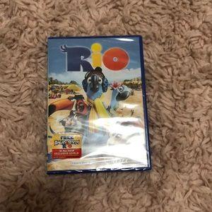 Rio the movie dvd